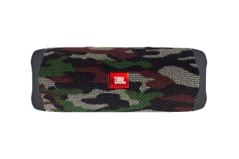 JBL Flip 5 Waterproof Bluetooth Speaker (Squad)