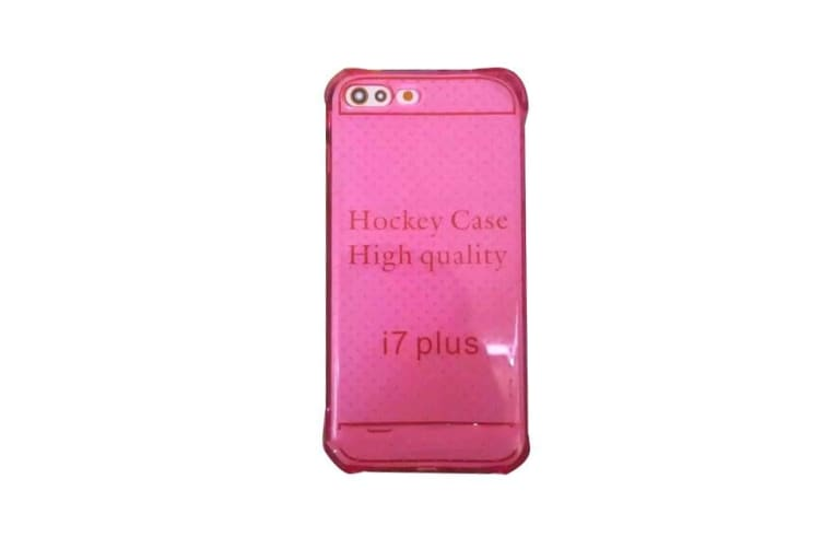For iPhone 8 PLUS 7 PLUS Case  Cushions Grippy Shielding Cover Magenta