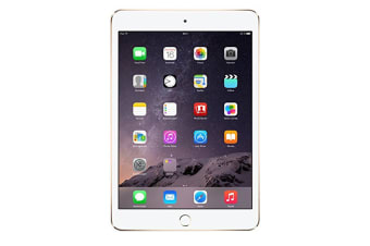 Apple ipad Mini 3 64GB Refurbished Tablet Cellular - Gold