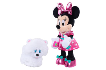 Disney Minnie's Walk and Play Puppy