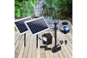 110W Solar Pond Pumps Fountain Battery Powered Outdoor Submersible