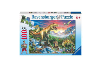 Ravensburger Time of the Dinosaurs 100-Piece Puzzle