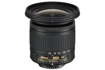 New Nikon AF-P DX NIKKOR 10-20mm f/4.5-5.6G VR Lens (FREE DELIVERY + 1 YEAR AU WARRANTY)