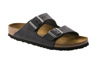 Birkenstock Arizona NU Oiled Sandal (Black)
