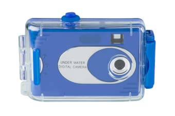 Vivitar Digital Waterproof Camera (V26690-BLU)