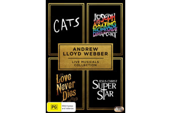 Andrew Lloyd Webber Live Musicals Collection Box Set DVD Region 4
