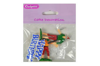 Culpitt Party Cake Toppers (Pirate 1) (One Size)