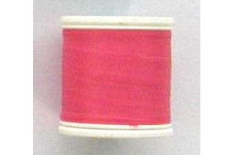 Seahorse 100 Yard Spool of Size A Rod Wrapping Thread - Rod Binding Cotton (Colour: Pink)