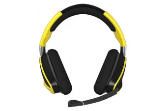 Corsair Gaming VOID PRO RGB Wireless SE Premium Gaming Headset (Yellow)