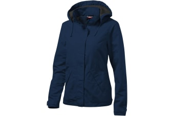 Slazenger Womens/Ladies Top Spin Jacket (Navy) (M)