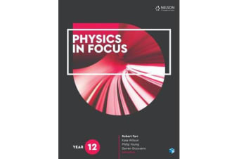 Physics in Focus Year 12 Student Book with 4 Access Codes