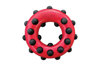 KONG Small Dotz Circle Layered Chewing Toy for Dogs & Puppies