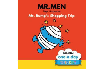 Mr. Bump's Shopping Trip Mr Men - One-a-day: Tuesday - By Roger Hargraves