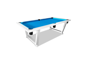 8FT Outdoor Pool Billiard Table Free Accessory for Patio Backyard Home Garden