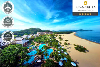 BORNEO: 7 Nights at the Shangri-La's Rasa Ria Resort & Spa, Kota Kinabalu Including Flights for Two