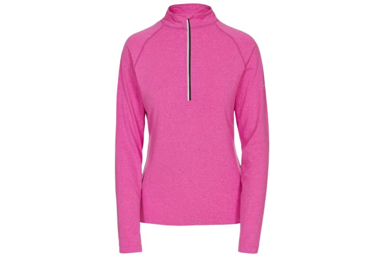 Trespass Womens/Ladies Rado Long Sleeve Active Top (Pink Glow Marl) (S)