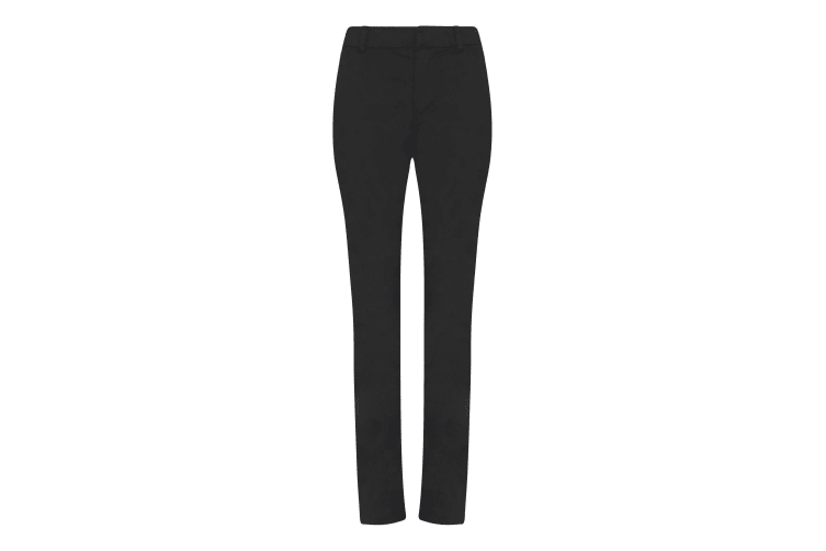 AWDis So Denim Womens/Ladies Lily Slim Chinos (Black) (8L)