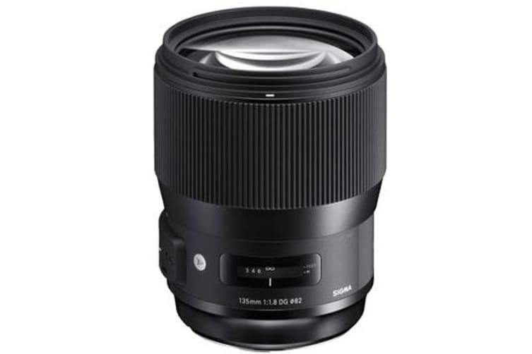 New Sigma 135mm f/1.8 DG HSM (Art) Lens (Canon) (FREE DELIVERY + 1 YEAR AU WARRANTY)
