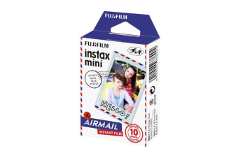 Fuji Instax Airmail Mini Film - 10 Pack