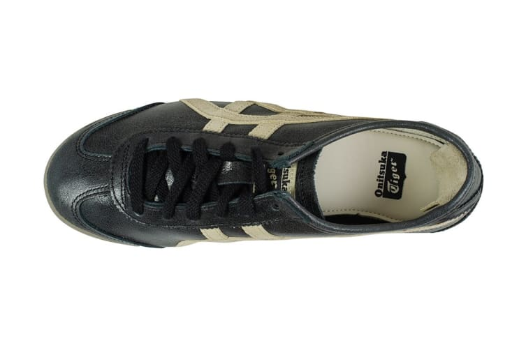 Onitsuka Tiger Mexico 66 Shoe (Black/Feather Grey, Size 7.5)