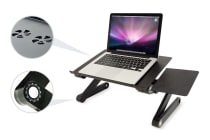 Kogan Adjustable Laptop and Tablet Stand with Cooling fan