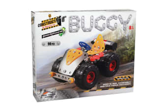 Construct-It! Battery Powered Buggy 90 Piece Kit