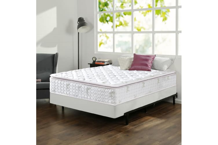 Dreamz Mattress Queen Double King Single Bed Euro Top Pocket Spring Firm Foam