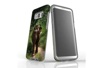 For Samsung Galaxy S8 Case Armour Cover  Running Elephant