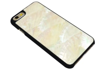 For iPhone 6S 6 Case Elegant Durable Genuine Seashell Protective Cover White