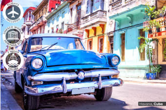 CUBA: 20 Day Cuba Tour and Caribbean Cruise Including Flights for Two