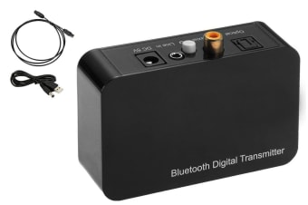 Bluetooth Transmitter Sender Aux 3.5Mm Jack/Coaxial/Optical Toslink Audio Input