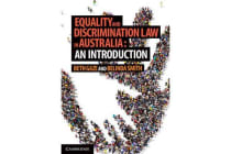 Equality and Discrimination Law in Australia - An Introduction