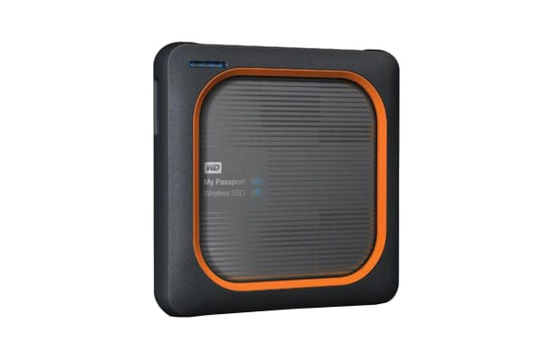 WD My Passport Wireless SSD 500GB Wi-Fi Mobile Storage (WDBAMJ5000AGY-PESN)