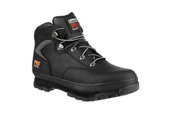 Timberland Pro Mens Euro Hiker Lace Up Safety Boots (Black)