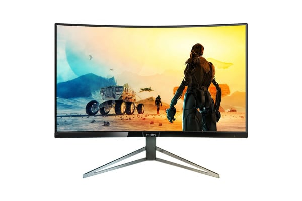 """Philips 31.5"""" 2K QHD 2560x1440 HDR-10 144Hz Curved Gaming Monitor with FreeSync (328M6FJRMB)"""