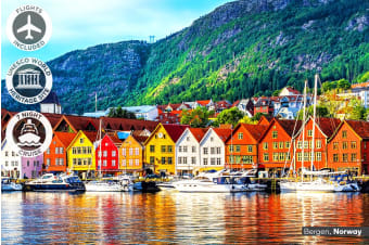 EUROPE: 23 Day Scandinavia Tour and Baltic Cruise Including Flights for Two