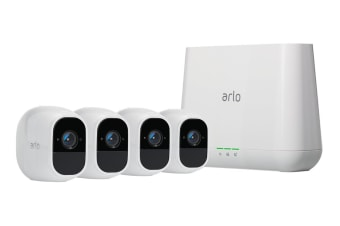Arlo by Netgear Pro 2 HD 1080p Smart Security System with 4 Wire-Free HD Security Cameras (VMS4430P-100AUS)