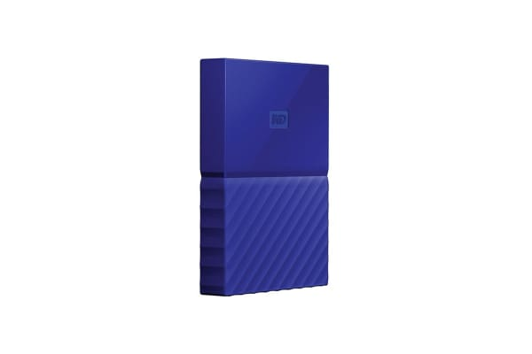 WD My Passport 4TB USB 3.0 Portable Hard Drive - Blue (WDBYFT0040BBL-WESN)