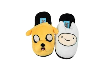 Adventure Time Official Childrens/Kids Finn And Jake Slippers (Multicoloured)