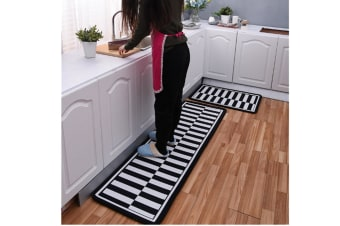 Non-Slip Kitchen Floor Mat Doormat Runner Rug - 4 , 40*120Cm
