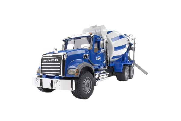 Bruder 1:16 Mack Granite Cement Mixer