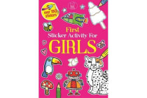 First Sticker Activity for Girls