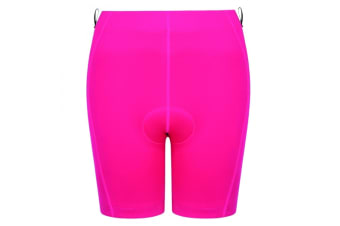 Dare 2B Womens/Ladies Turnaround Padded Cycling Shorts (Cyber Pink) (10)