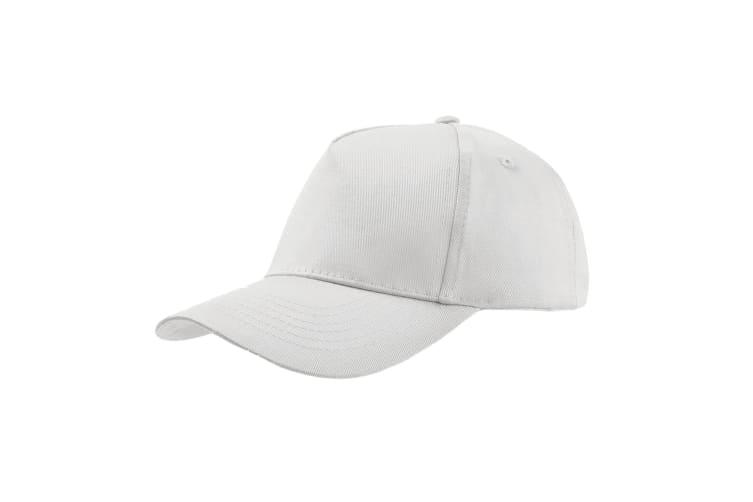 Atlantis Childrens/Kids Start 5 Cap 5 Panel (Pack of 2) (White) (One Size)