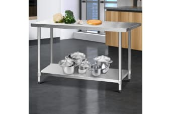 Stainless Steel Kitchen Benches Work Bench Food Prep Table 1524x760