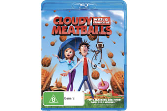 Cloudy With a Chance of Meatballs Blu-ray Region B