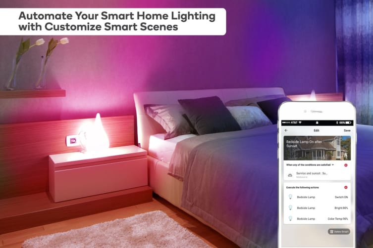 Kogan SmarterHome™ Ambient RGBW Smart LED Bulb (E14) - Set of 4
