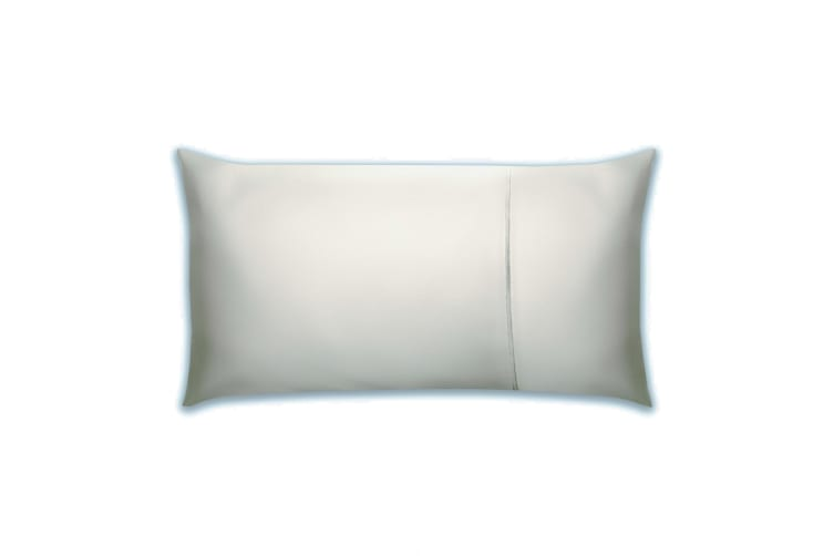 Belledorm Pima Cotton 450 Thread Count Bolster Pillowcase (Platinum) (One Size)