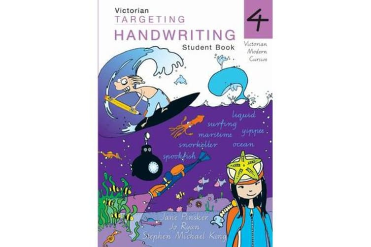 Targeting Handwriting - VIC Year 4 Student Book