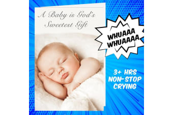 Crying Baby Prank Baby Shower Card Cries For 3+ Hours | JokerGreeting